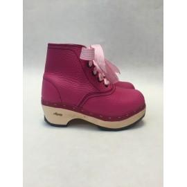Pink clogs