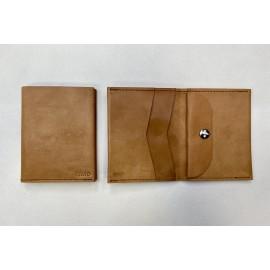 Large natural color wallet
