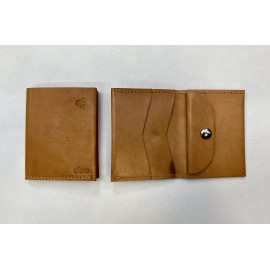 Small natural color wallet