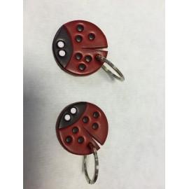 Keychain ladybug